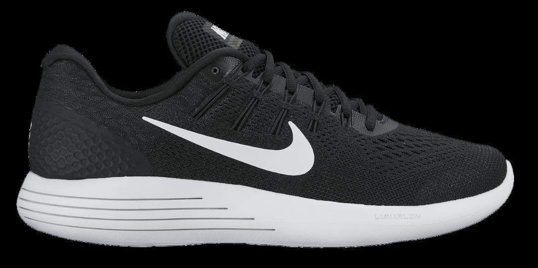 save off 38eb4 ecd68 Nike Nike Lunarglide 8 löparsko - BLACK WHITE-ANTHRACITE - Intersport