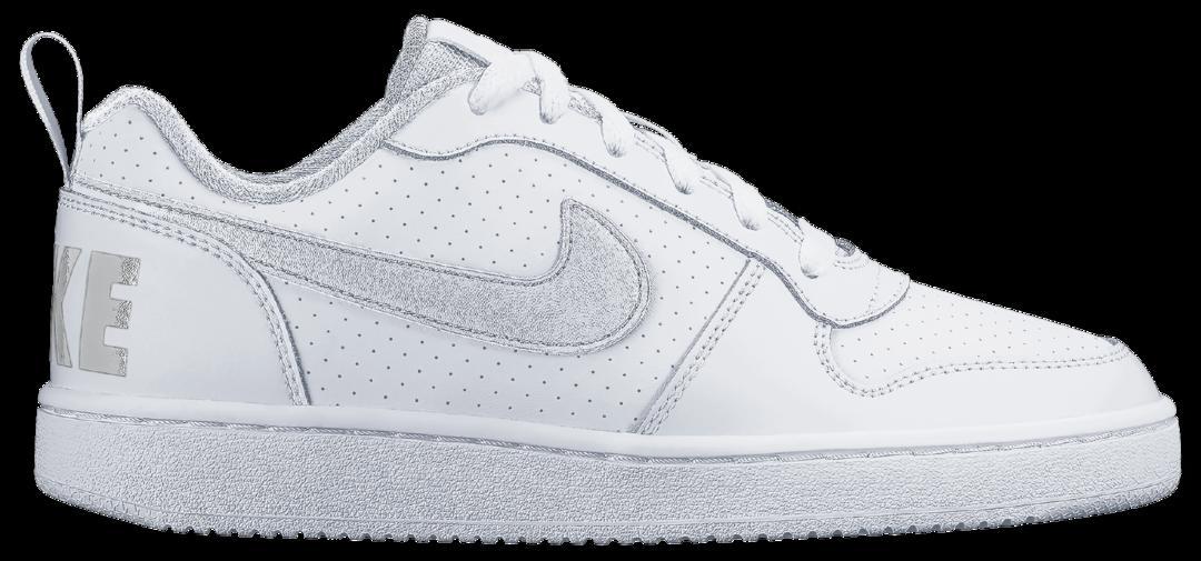 more photos 12c22 e510c Nike Nike Court Borough Low (Gs) sneakers - WHITEWHITE-WHITE - Intersport