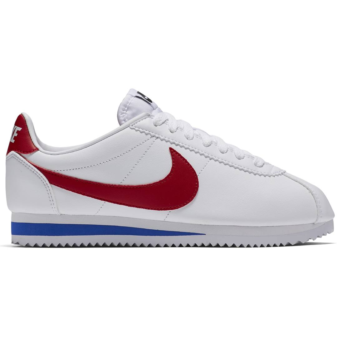 Nike Wmns Classic Cortez Leather sneakers WHITEVARSITY RED VARSITY ROYA Köp online hos Intersport