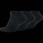 Nike No show ankelsocka 3-pack BLACK/WHITE
