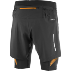 Salomon Intensity TW shorts Black / Bright Marigold /