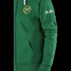 Hammarby Zip hood retrologga -5 grön