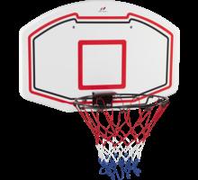 Basketkorg med planka