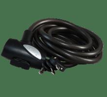 Spirallås 10x18 med hållare