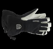 Army leather heli ski handske