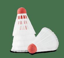 Badmintonbollar 5-pack