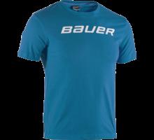 Bauer Core Ss Tee Yth - Blu