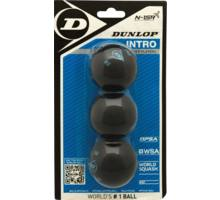 Intro 3 ball Blister Squashbollar