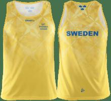 Svenska Löpare singlet M linne