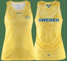 Svenska Löpare Singlet W linne