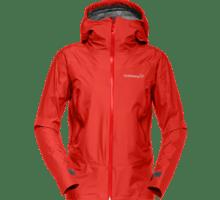 NRA falketind Gore-Tex Jacket (W)-1265 Crimson Ki