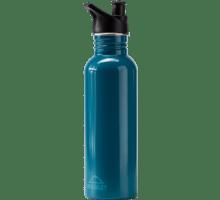 Rostfri flaska med sportkork  0,7liter