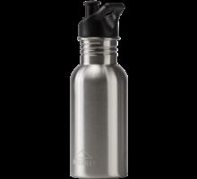 Rostfri flaska med sportkork  0,5 liter