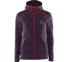 Bungy hood fleece jacka