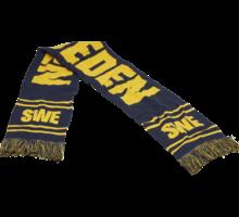 Sweden supporterhalsduk