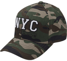 NYC Youth Camo Baseball keps