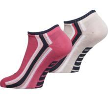 G Seasonal Stripe Sneaker 2p strumpor