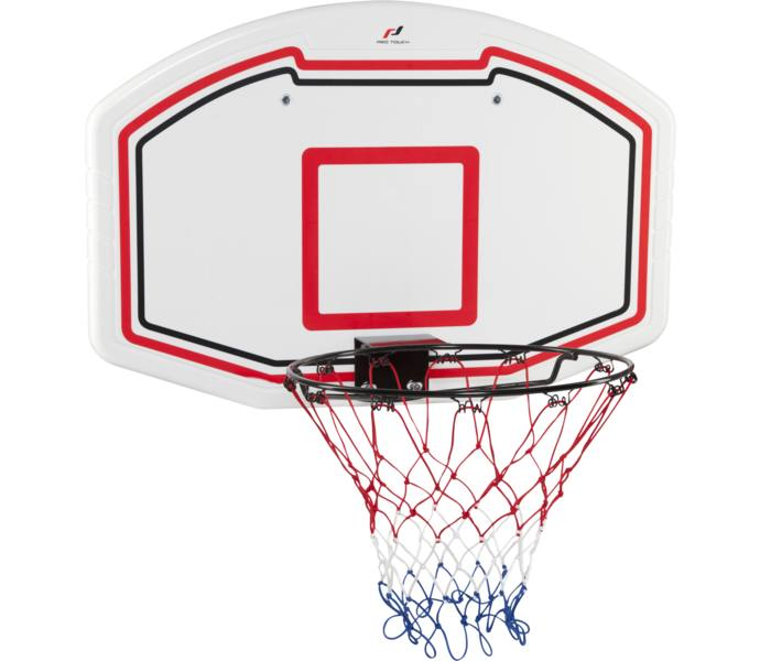Pro touch Basketkorg med planka - VIT RÖD SV - Intersport 4935f36edc78a