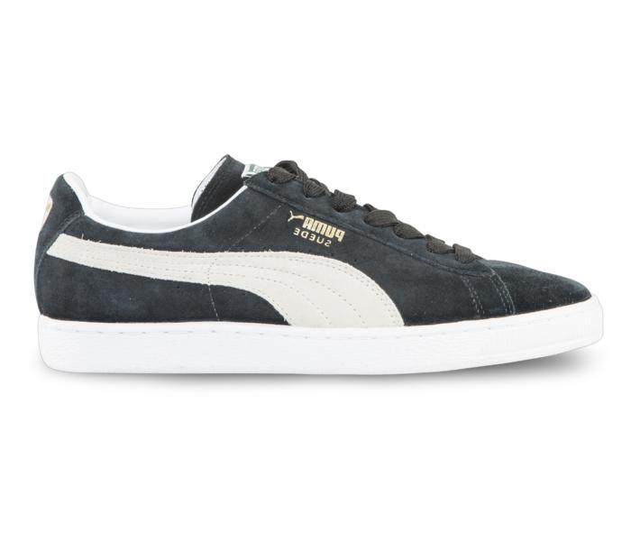 3a395ee8 Puma Suede classic eco sko - black-white - Köp online hos Intersport