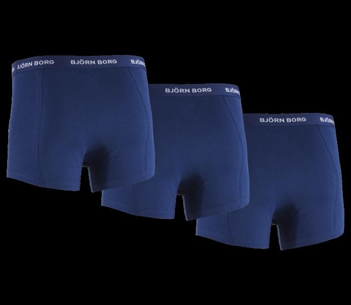 Björn Borg Noos Basic boxershorts 3-pack Blue Depths