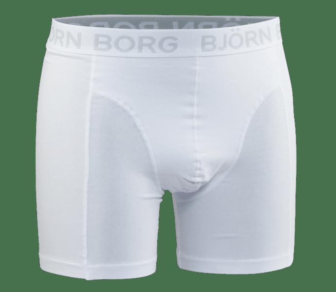 Björn Borg Noos Solids boxershorts White