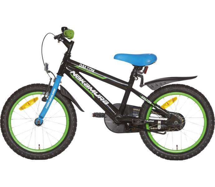 Bra Nakamura Dalton 16 tum barncykel - BLACK/GREEN/BLUE - Köp online LL-57