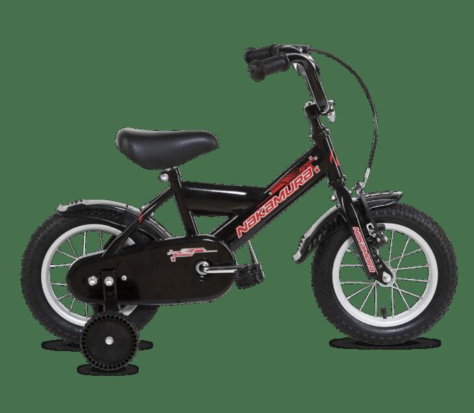 "Nakamura Pearl 12"" barncykel SVART"
