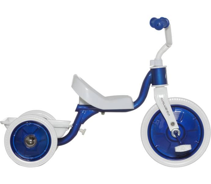 trehjulig cykel med flak