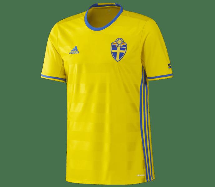 Adidas SvFF Home 17 matchtröja YELLOW/BROYAL
