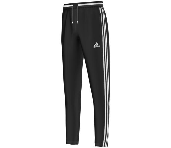 adidas con16 trg byxor svart vit barn billiga adidas skor
