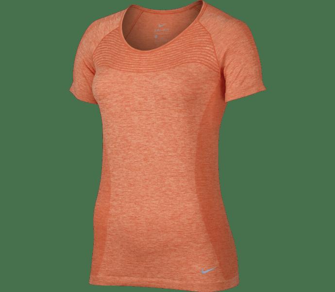 best service 08001 8c780 Nike Dri-Fit Knit Short Sleeve t-shirt TURF ORANGE PEACH CREAM