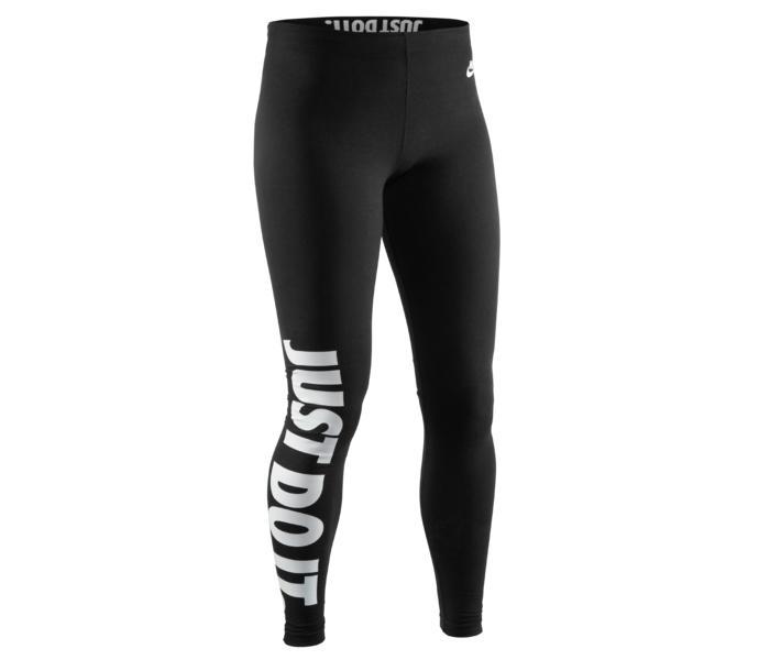 462feff959a Nike Leg-A-See JDI tights - BLACK/WHITE - Köp online hos Intersport