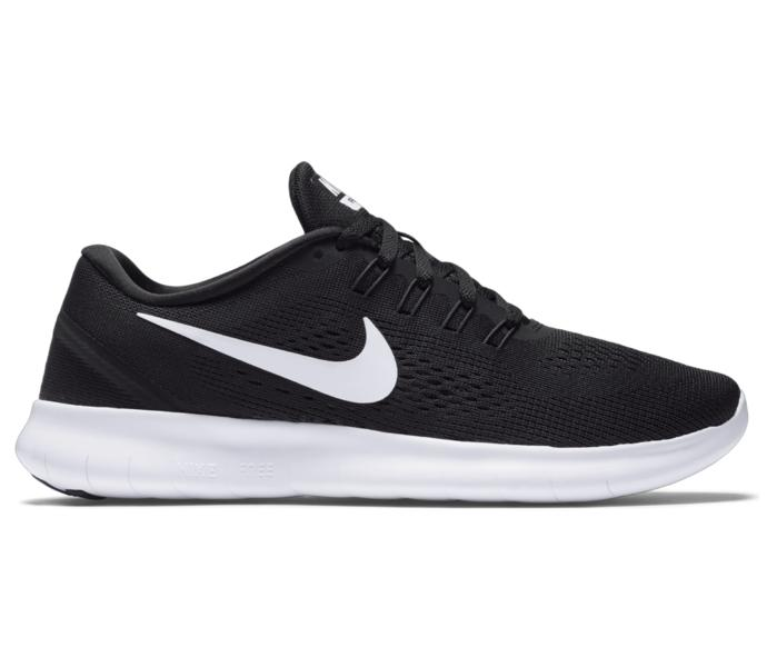 new style f7099 a16e3 Nike Free RN löparsko - BLACK WHITE-ANTHRACITE - Intersport