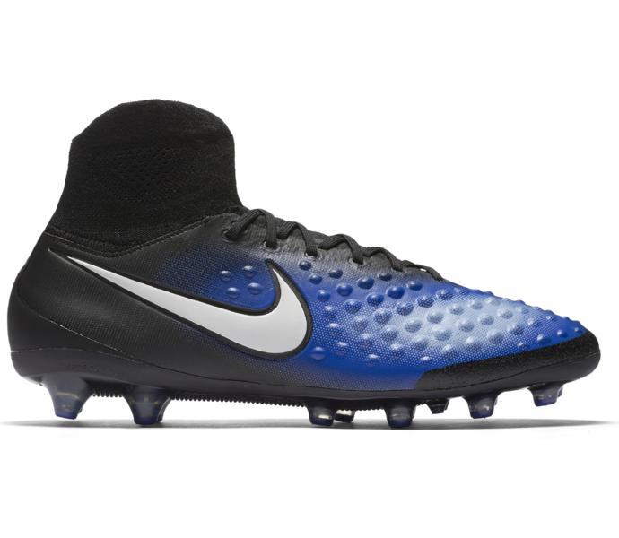 best sneakers 81ae6 28106 Nike Magista Orden II AG Pro fotbollssko BLACK WHITE-PARAMOUNT BLUE-ALU