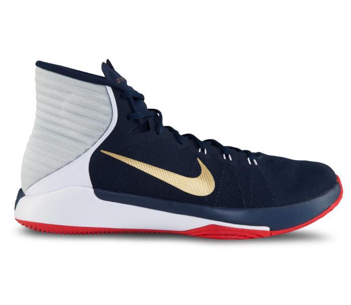 online retailer ebd71 38a22 Nike Nike Prime Hype Df 2016 basketsko MIDNIGHT NAVY METALLIC GOLD-WH