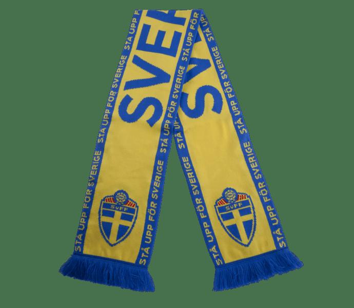 SVFF Stå Upp För Sverige halsduk gul