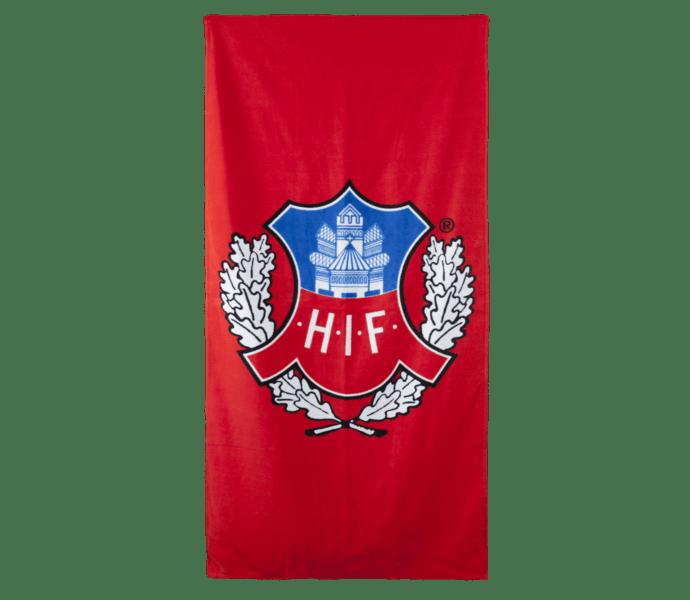Helsingborgs IF Handduk velour 70*140cm röd