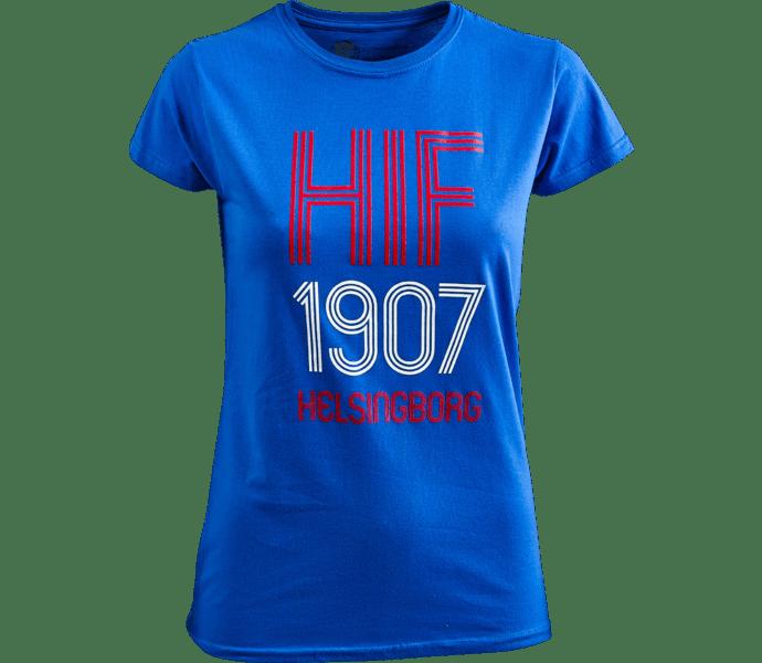 Helsingborgs IF T-Shirt 1907 Dam blå