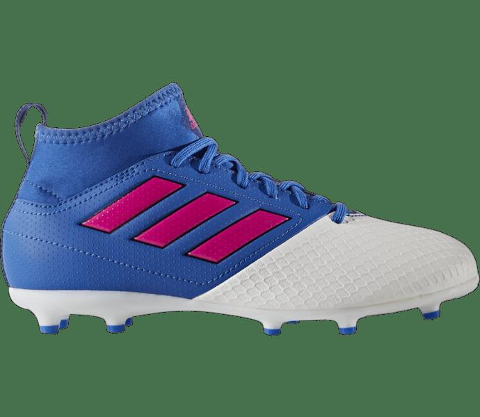 Adidas Ace 17.3 Fg/Ag J Fotbollsskor BLUE/SHOPIN/FTWWHT
