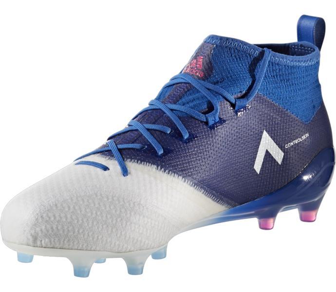 outlet store b7a75 a64f6 adidas Ace 17.1 Primeknit Fg Ag Fotbollsskor - BLUE SHOPIN FTWWHT -  Intersport
