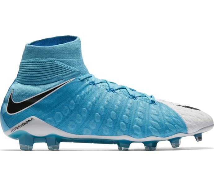 the best attitude bfb13 7089b Nike Hypervenom Phantom III FG fotbollssko WHITE BLACK-PHOTO BLUE-CHLORIN