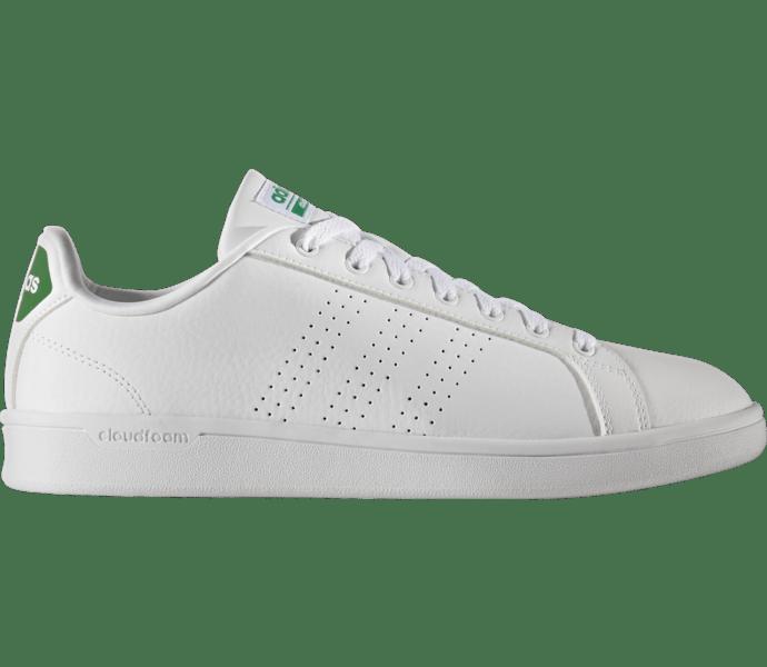 Adidas Cloudfoam Advantage Clean Sneakers FTWWHT/FTWWHT/GREEN
