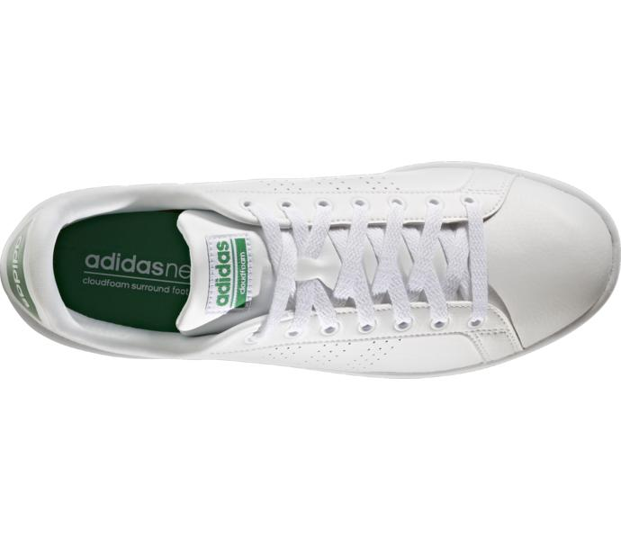 lowest price 43a81 fa754 adidas Cloudfoam Advantage Clean Sneakers - FTWWHTFTWWHTGREEN - Intersport