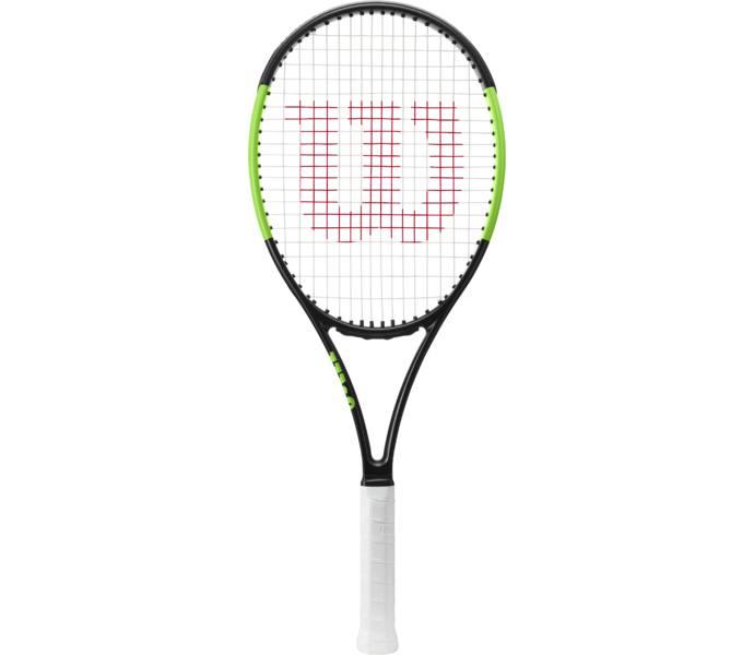 Wilson Blade 101L tennisracket - BLACK VELVET ELECTRIC LIME - Intersport 6aab4b2a3e142