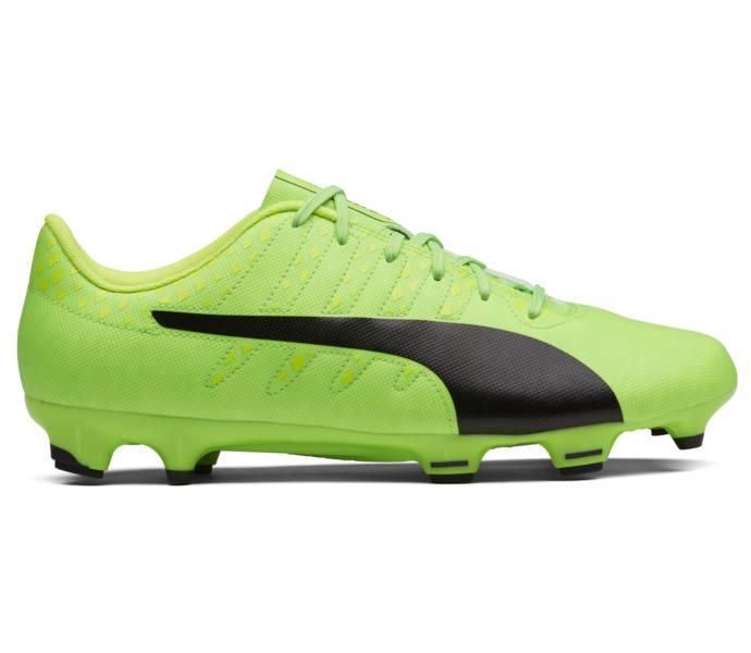 separation shoes f38a9 9326a Puma evoPOWER Vigor 4 FG fotbollssko Green Gecko-Puma Black-Safety Yellow