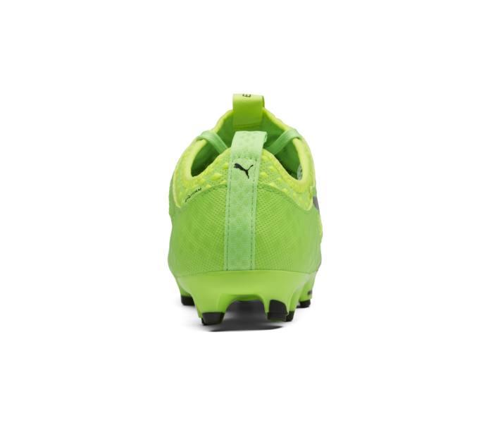 new product b2387 3c1f1 Puma evoPOWER Vigor 1 FG JR fotbollssko - Green Gecko-Puma Black-Safety  Yellow - Intersport