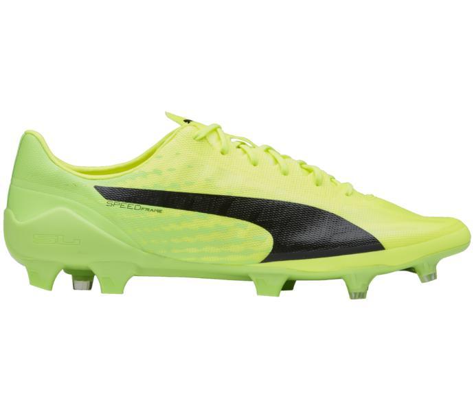 buy online 9614b ff9b6 Puma Evospeed 17 Sl Fg Fotbollssko Safety Yellow-Puma Black-Green Gecko
