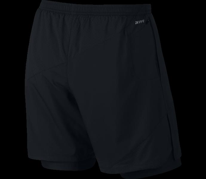 Nike Flex 7in shorts BLACK/BLACK