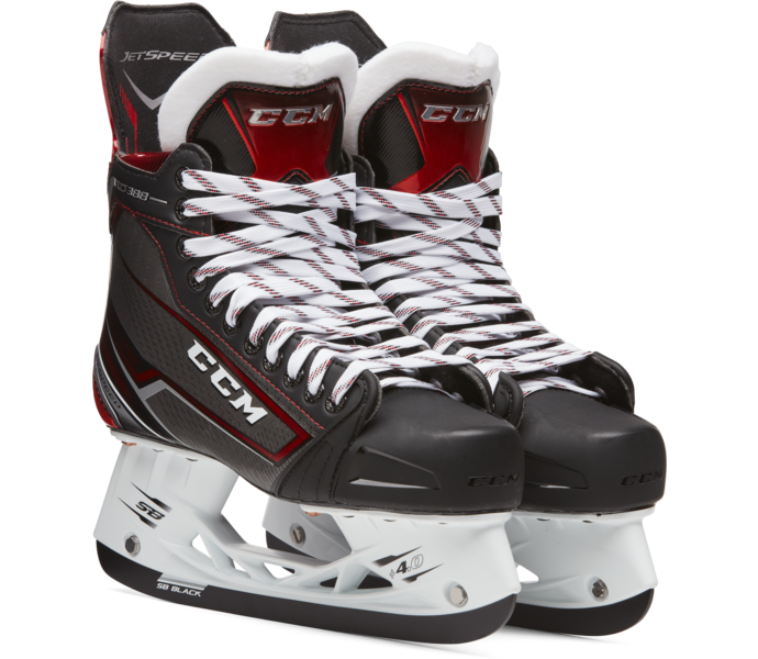 CCM Hockey Jetspeed 388 Jr - Hockeyskridsko NO COLOR