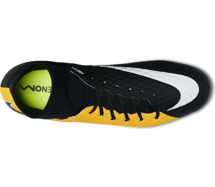 free shipping dd176 6aaa0 Hypervenom Phelon 3 DF Agpro fotbollsskor. Nike  Herr  Svart, Orange, Vit